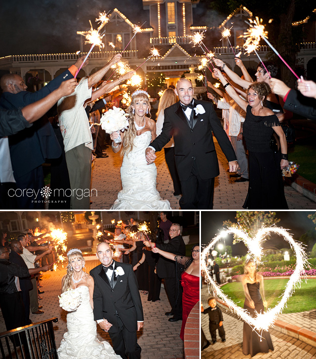 Wedding Sparkler Exit Grand Traditions