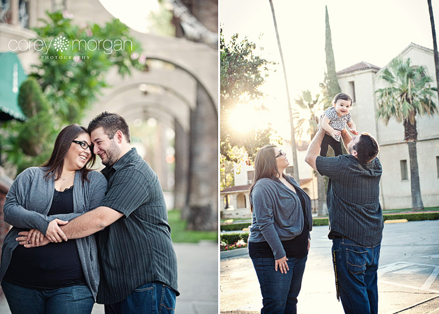 Mission Inn Downtown Riverside Family Portraits